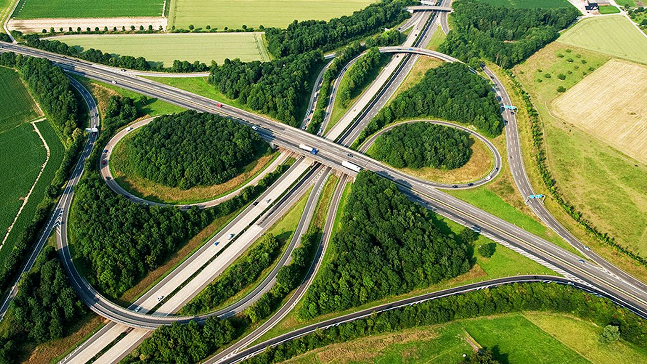 Foto Autobahnkreuz Mönchengladbach