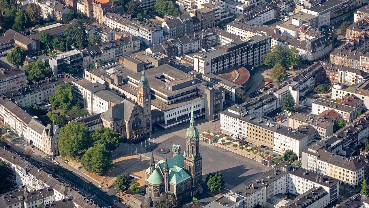 Foto Rathaus Rheydt